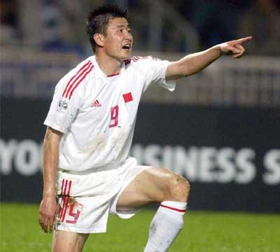 世界杯外围赛,中国1比
