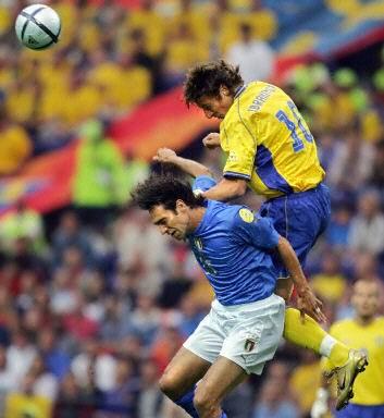 意大利vs瑞典 内斯塔执行 空防