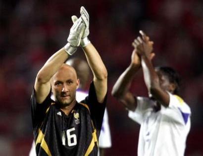 欧锦赛法国3 1瑞士 巴特斯庆祝球队晋级