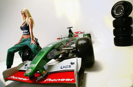 美女与美洲虎F1
