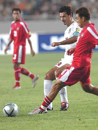 亚洲杯伊朗3 0泰国 阿里 代伊力不从心