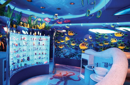 壁纸 海底 海底世界 海洋馆 水族馆 425_277