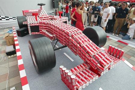 [图文]-f1上海站可口可乐活动多图片