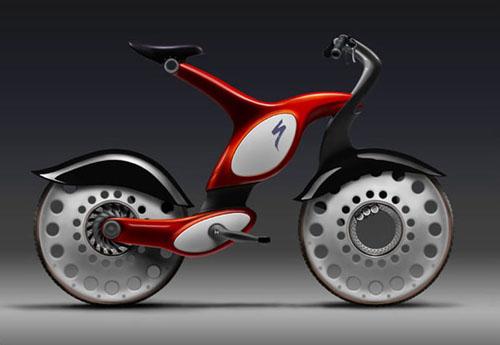 宝马最新概念自行车