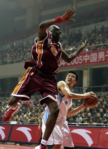 [图文]-北京首钢89-91云南红河 李·本森封盖