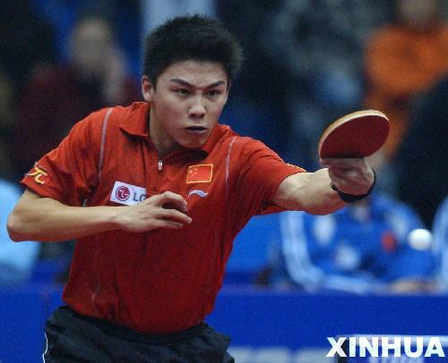 乒乓球明星对抗赛首日 中国队5比0胜世界明星队