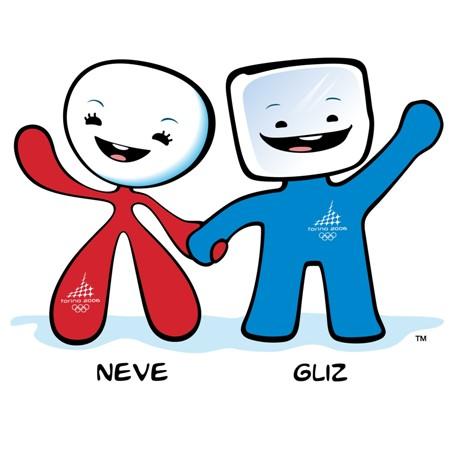 2006年冬奥会吉祥物俏雪人和冰立方面世
