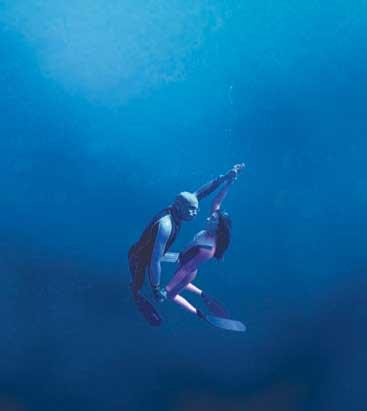 拘束感受――潜水运动