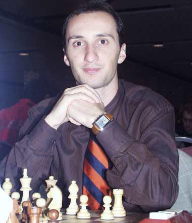 男子国象世冠赛 对手眼红托帕洛夫提抗议被驳