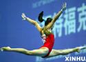女子体操赛湖南暂列第一