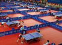 十运会乒乓球团体赛开赛