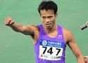 男子100米龚伟夺冠
