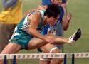 110米栏刘翔13秒10夺金