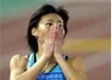 女400米跑黄潇潇夺冠