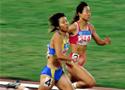 秦旺萍获女子200米冠军