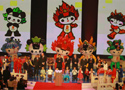 [组图]-2008年北京奥运会吉祥物闪亮登场