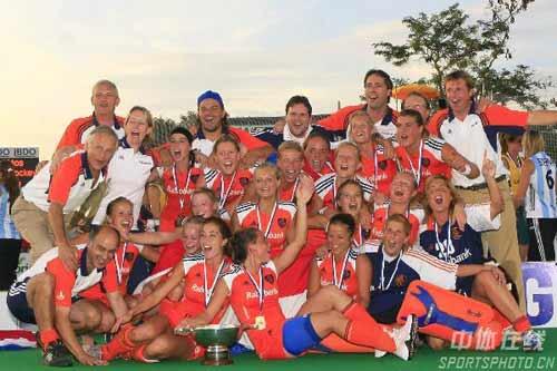 女曲世界杯落幕 荷兰击败澳大利亚夺冠