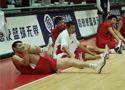 中国男篮赛前训练