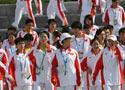 中国举行升旗仪式