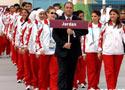 约旦代表团升旗仪式