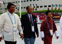 菲律宾等三国升旗仪式
