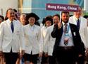 中国香港举行升旗仪式