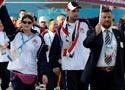 叙利亚举行升旗仪式