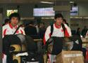 中国国奥队回国