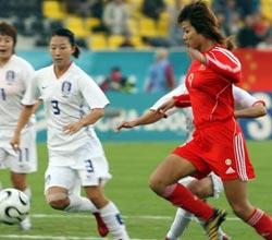 中国女足2-0胜韩国夺得亚运铜牌