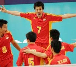 惊险战胜沙特 中国男排晋级决赛