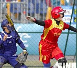 中国女垒不敌中国台北获亚运铜牌