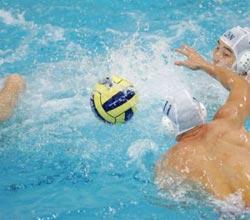 亚运水球赛中国队反败为胜夺冠军