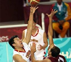 男篮决赛 中国战胜卡塔尔夺冠