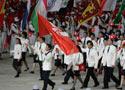 中国香港代表团入场