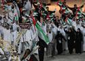 阿拉伯代表团入场