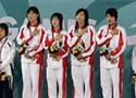 自由泳接力中国夺冠