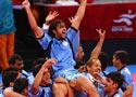 卡巴迪印度蝉联五冠
