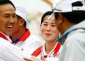 双向飞碟个人赛朝鲜夺冠