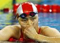 50米蝶泳周雅菲仅获第四