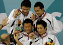男4x100米混合泳日本夺冠