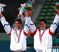 亚运软式网球中国台北男双夺冠