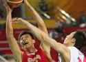 中国男篮大胜日本