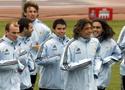 阿根廷抵德后首训