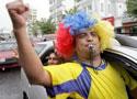 厄瓜多尔球迷庆祝胜利
