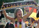 德国球迷感受胜利激情
