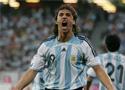 阿根廷队进球瞬间