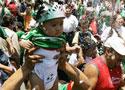墨西哥球迷街头狂欢