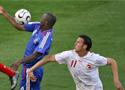 法国对阵瑞士精彩镜头
