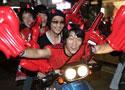 红魔球迷街头狂欢