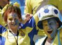乌克兰球迷助威